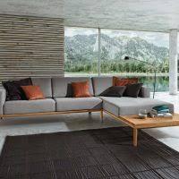 sofa aus holz natürliche gemütlichkeit für ihr wohnzimmer