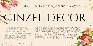 cinzel decorative bold font smartfonts