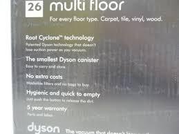 Dyson Dc65 Multi Floor Owners Manual by Dyson Dc26 Multi Floor Blue Vacuum Ebay