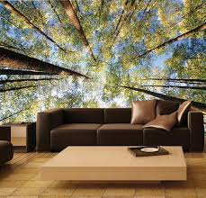 Wall MURAL Photo Decal Self Adhesive Vinyl Wallpaper TREETOP