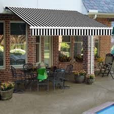 AWNTECH 24 Ft. Galveston Semi-Cassette Manual Retractable Awning ... Awning Depot Retractable Tiles Decking The Deks Outdoor Home Patio Anderson Doors Top Storm On Decoration Lawn Mowers At Awnings Door Costco Design Ideas Alinum For Horizon Full Size Of Awningcover Kits Diy