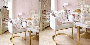 stylish gemütlich armlehnsessel in weiß gold instashop