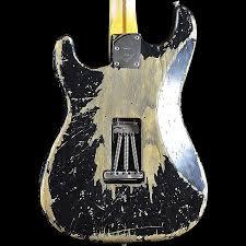 Fender Builder Select Garage Mod Stratocaster Heavy Relic Black