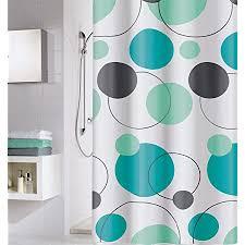 meusch duschvorhang türkis