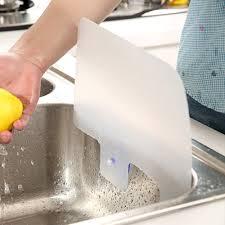 Kitchen Island Sink Splash Guard by Kitchen Sink Water Splash Guard Plate With Sucker White Lazada Ph