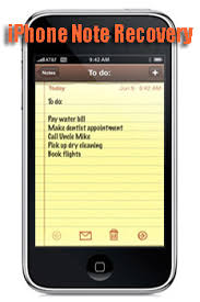 Lost Notes iPhone 2 Solutions Help to Recover Deleted or Lost