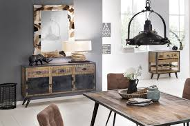 sit möbel sideboard iron mangoholz schmiedeeisen möbel