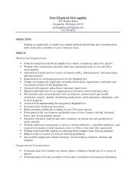 Veterinary Technician Resume Examples Sample Assistant Objective