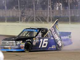 100 Win Truck Moffitt And Underdog Race Team Win Series Title