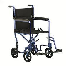 chaise roulante de transport en aluminium de invacare 19