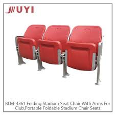Stadium Chairs For Bleachers With Arms by Juyi