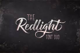 Free Download Redlight Script Font Duo