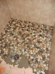 something from nothing pebble shower floor