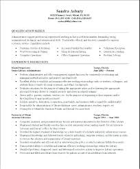 General Resume Examples 2017