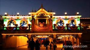 Fiber Optic Halloween Decorations by Disneyland Paris Halloween Decorations On Main Street Train