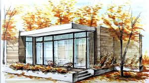100 Architectural Houses ARCHITECTURAL SKETCHING HOUSE 5