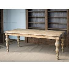 Fae Traditional Reclaimed Wood Dining Table