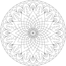 Coloring Pages Printable Mandala