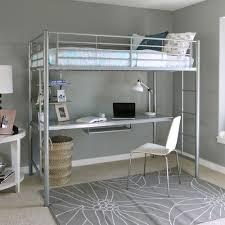 Canwood Whistler Junior Loft Bed White by Dhp 5513198 Junior Loft With Slide Silver U0026 Blue Walmart Com