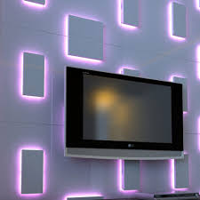 led wall covering lighting