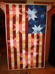 American Flag Quilt Wall Hanging