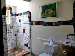 8 bäder ideen mosaik bad mosaik hundertwasser