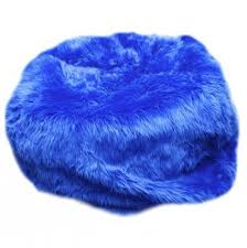 Buy Your Small Beanbag In Royal Blue Fuzzy Fur Here The Is Perfect Comy And Cozy Spot For Child