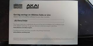 Giving Away A Coupon For Ableton As I Already Own It ... Ipvanish Coupon Code Get Upto 71 Off On Vpn With Pros Cons Use The Shein How To Launch Create Onetime Amazon Codes For Viral 9 Dynamically A Woocommerce Metorik Do I Redeem My Voucher Coupon Code Caseable Tutorial Create Coupons And Easypromos Videostudio Ultimate X6 Airbnb Coupon Code 2019 40 Off Free Discount Facebook User Idisplay Big Sign Young Living Promo Healthy Happy Home Project Eacastore Soesic Clothing Co