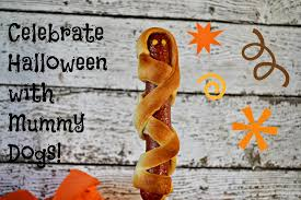 Halloween Hotdog Fingers Recipe by Mummy Dogs For Halloween Fun Building Our Story