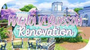 The Sims 4 Magnolia Blossom Park Renovation