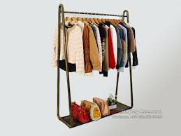 GR093 Creative Ideas Clothes Shelves Commercial Garment Rack