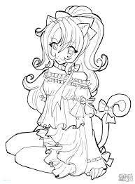 Cute Anime Chibi Coloring Pages For Kids Womanmate Free