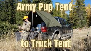 Army Pup Tent Turned Truck Tent - YouTube Homemade Truck Tent Tarp Roof Top Diy Scratch Tierra Este 61726 Home Made Truck Bed Slider Rcu Forums Awning Elegant Motorhome Sides Agssamcom Because Im Me Diy Bed Camper Build Album On Imgur Rightline Gear Full Size Long 8 1710 Toyota Tacoma Owner Turns His Car Into A Handmade Rv Aoevolution Knitowl Pvc Tent And End Of Vacation Click This Image To Show The Fullsize Version Vehicles Clublifeglobalcom