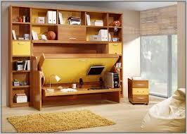 murphy bed with desk desk bed closed bed u0026 desk oak desk