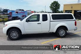 2016 Nissan Frontier With A Contour III Cap And Added Yakima Roof ...