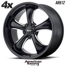 4 American Racing 912 TT60 22