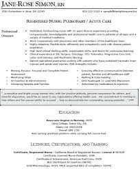 Sample Resume For Nurses In Canada Combined With Nurse Writers Perfect Nursing Make