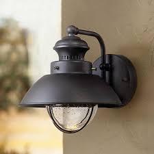 fordham 8 high black led outdoor wall light 5c013 ls plus