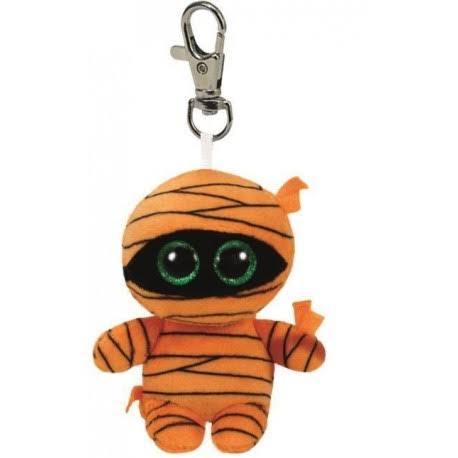 Ty Beanie Boos Key Clip - Orange Mummy, 3.5""