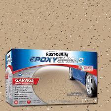 Drylok Concrete Floor Paint Sds by Rust Oleum Epoxyshield 1 Gal Tan Garage Floor Epoxy Case Of 2