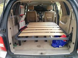 Minivan Camping Accessories 46 Best Van Conversion Life Images On Pinterest Kits