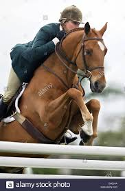 100 Wellington Equestrian Club Nov 30 2004 FL USA JOIE GATLIN Jumps Mandarin In The