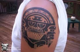 Tribal Priest Tattoo Prehispanic
