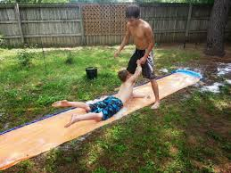 My Kids Decided To Set Up A Slip N Slide In The Backyard. | Rebrn.com More Accurate Names For The Slip N Slide Huffpost N Kicker Ramp Fun Youtube Triyaecom Huge Backyard Various Design Inspiration Shaving Cream And Lehigh Valley Family Just Shy Of A Y Pool Turned Slip Slide Backyard Racing With Giant 2010 Hd Free Images Villa Vacation Amusement Park Swimming 25 Unique Ideas On Pinterest In My Kids Cided To Set Up Rebrncom Crazy Backyard Slip Slide
