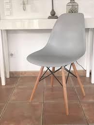 4 stühle sessel esszimmer grau neu ovp style