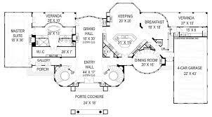 Chateau Floor Plans Chateau De Villesarin House Plan