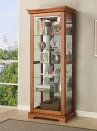 Pulaski Oak Corner Curio Cabinet by Decorating Curio Cabinet For Stunning Home Furniture Ideas