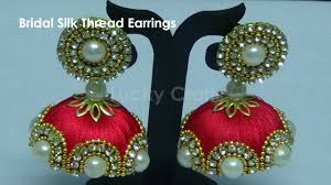 How To Make Designer Bridal Silk Thread Earrings/Jhumkas At Home ... Bresmaid Jewelry Ideas How To Choose For Bresmaids Bold Design Ideas To Make Pearl Necklace Making With Beads Diy New What Is Projects Cool Home Luxury Under Make Embroidered Patches Blouses And Sarees At Jewellery Work Villa 265 Best Moore Jewelry Images On Pinterest Making Design An Ecommerce Website Xmedia Solutions Blog Decorating A Small Bedroom Decorate Really Learn How Jewellery Home With Insd Let Us Publish Backyards Woodworking Box Plans Free Download
