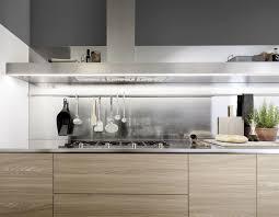 cuisine murale hotte de cuisine murale avec éclairage intégré design original