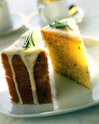 Lemon And Rosemary Olive Oil Cake